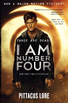 Mitchell recommends I AM NUMBER FOUR by Pittacus Lore.