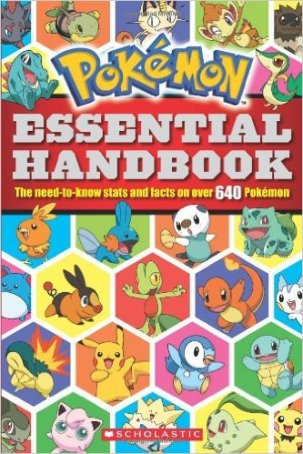 Jarvis recommends POKEMON ESSENTIAL HANDBOOK.