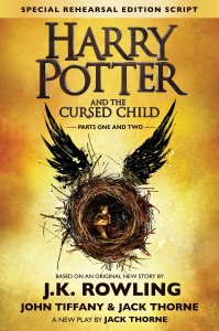 Albie recommends HARRY POTTER AND THE CURSED CHILD by John Tiffany and Jack Thorne.