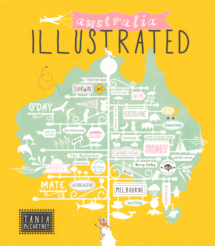 Australia Illustrated cover