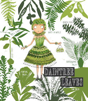 A page from the first book Tania illustrated.