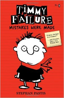 Xavier recommends TIMMY FAILURE MISTAKES WERE MADE by Stephan Pastis.