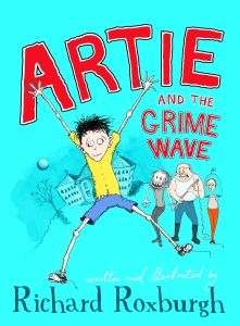 Lewis recommends ARTIE AND THE GRIME WAVE by Richard Roxburgh.