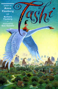 Albie May recommends TASHI by Anna Fienberg, Barbara Fienberg and Kim Gamble.