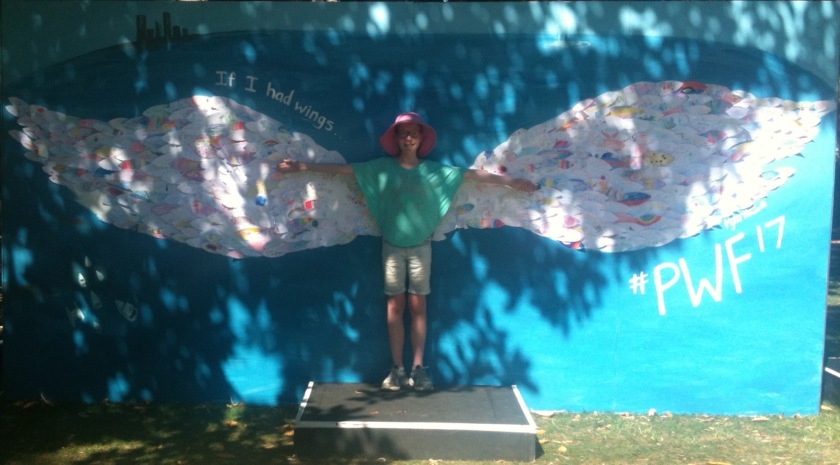 Photo of Matilda with wings
