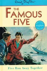 Lewis recommends THE FAMOUS FIVE: FIVE RUN AWAY TOGETHER by Enid Blyton.