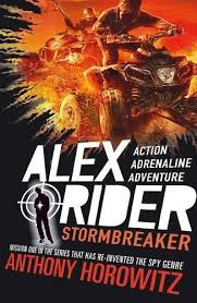 Mitchell recommends ALEX RIDER STORMBREAKER by Anthony Horowitz.