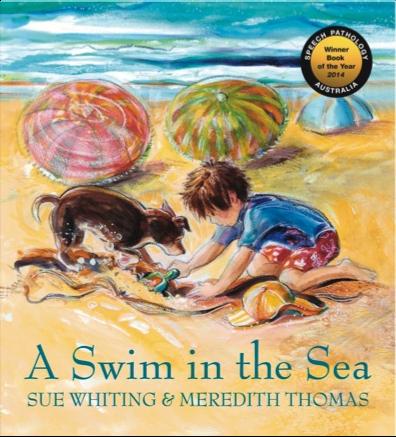 A Swim in the Sea, ill. Meredith Thomas.