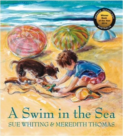 A Swim in the Sea, ill. Meredith Thomas.