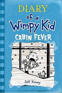 Anishka recommends DIARY OF A WIMPY KID: CABIN FEVER by Jeff Kinney