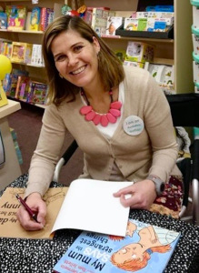 Katrina Germein signing books