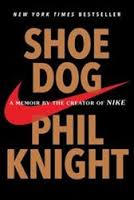 Stacey recommends SHOE DOG by Phil Knight