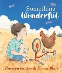Something wonderful (picture book cover)