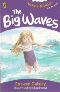 The Big Waves (book cover showing child at the beach)