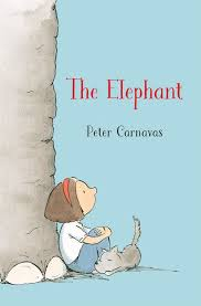 The elephant (cover) by Peter Carnavas.