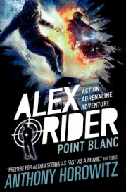 Mitchell recommends ALEX RIDER POINT BLANC by Anthony Horowitz