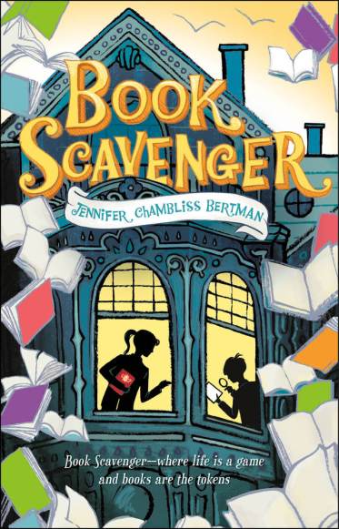 Matilda recommends BOOK SCAVENGER by Jennifer Chambliss Bertman