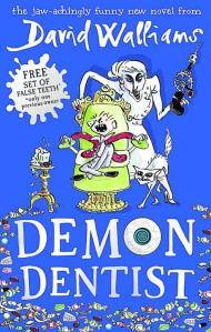 Demon Dentist by David Walliams (book cover)