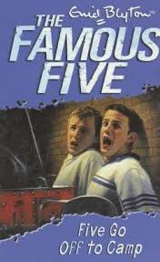 Lewis recommends FIVE GO OFF TO CAMP by Enid Blyton.