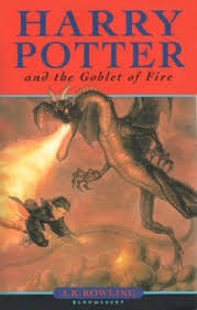 Albie and Anishka both recommend HARRY POTTER AND THE GOBLET OF FIRE by JK Rowling