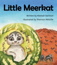 Little Meerkat illustrated by Shannon Melville
