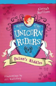 Unicorn Riders series illustrated by Jill Brailsford
