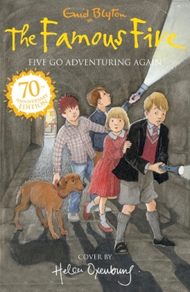 Anishka recommends FIVE GO ADVENTURING AGAIN by Enid Blyton