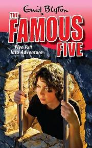 Lewis recommends THE FAMOUS FIVE: FIVE FALL INTO ADVENTURE by Enid Blyton