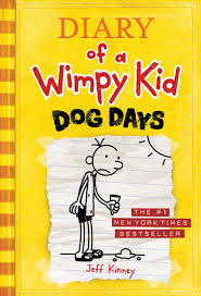 Stacey recommends DIARY OF A WIMPY KID DOG DAYS by Jeff Kinney