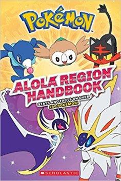 Xavier recommends POKEMON ALOLA REGION HANDBOOK