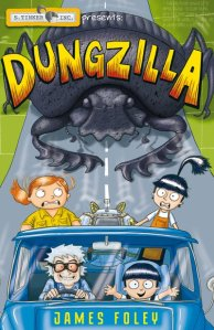 Dungzilla book cover by James Foley