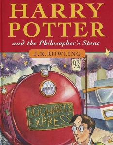 Albie May recommends HARRY POTTER AND THE PHILOSOPHER'S STONE by JK Rowling.