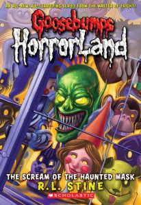 Anishka recommends THE SCREAM OF THE HAUNTED MASK by RL Stine