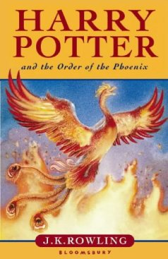 Lewis recommends HARRY POTTER AND THE ORDER OF THE PHOENIX by JK Rowling.