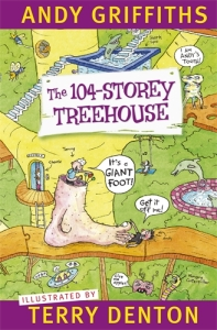 Matthew recommends The 104-Storey Treehouse by Andy Griffiths and Terry Denton