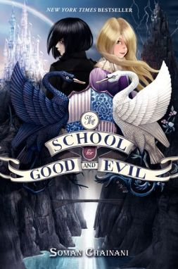 Kobe recommends THE SCHOOL FOR GOOD AND EVIL by Soman Chainani. (This is a book for older readers.)