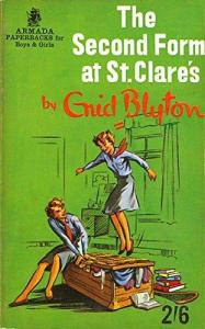 Tirion recommends THE SECOND FORM AT ST CLARE'S by Enid Blyton