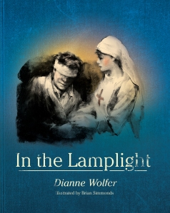In the Lamplight by Dianne Wolfer and illustrated by Brian Simmonds