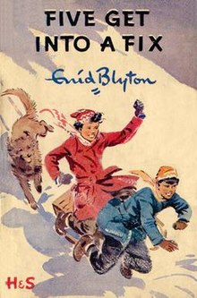 Lewis recommends FIVE GET INTO A FIX by Enid Blyton