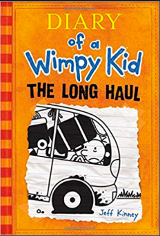 Matthew recommends THE LONG HAUL by Jeff Kinney