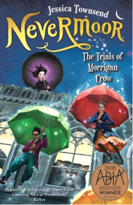 Matilda recommends NEVERMOOR: THE TRIALS OF MORRIGAN CROW by Jessica Townsend