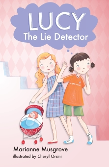 Albie recommends LUCY THE LIE DETECTOR by Marianne Musgrove and illustrated by Cheryl Orsini (book cover)
