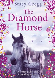Anishka recommends THE DIAMOND HORSE by Stacy Gregg (Book cover)