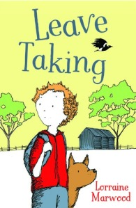 Leave taking by Lorraine Marwood. Book cover.