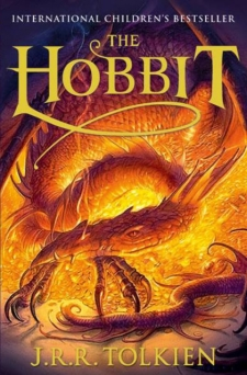 Lewis recommends THE HOBBIT by JRR Tolkien (book cover)