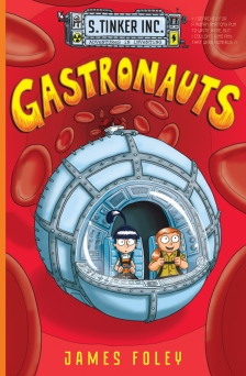 Rory recommends GASTRONAUTS by James Foley (book cover)