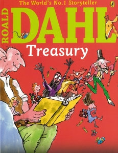 Xavier recommends THE ROALD DAHL TREASURY (book cover)