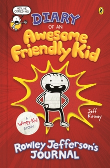 Xavier recommends DIARY OF AN AWESOME FRIENDLY KID by Jeff Kinney