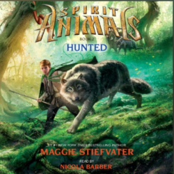 Albie recommends HUNTED (audiobook) by Maggie Stiefvater, narrated by Nicola Barber.
