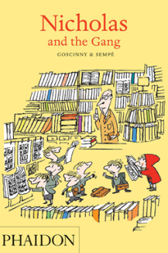 Lewis recommends NICHOLAS AND THE GANG by Goscinny & Sempé.